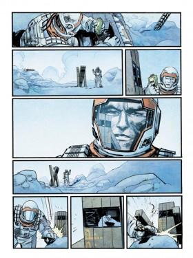 Interstellar story for Wired magazine, drawn by Sean Murphy