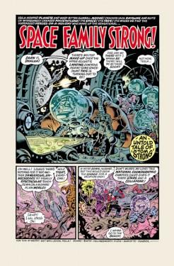 Tom Strong #14, drawn by Hilary Barta